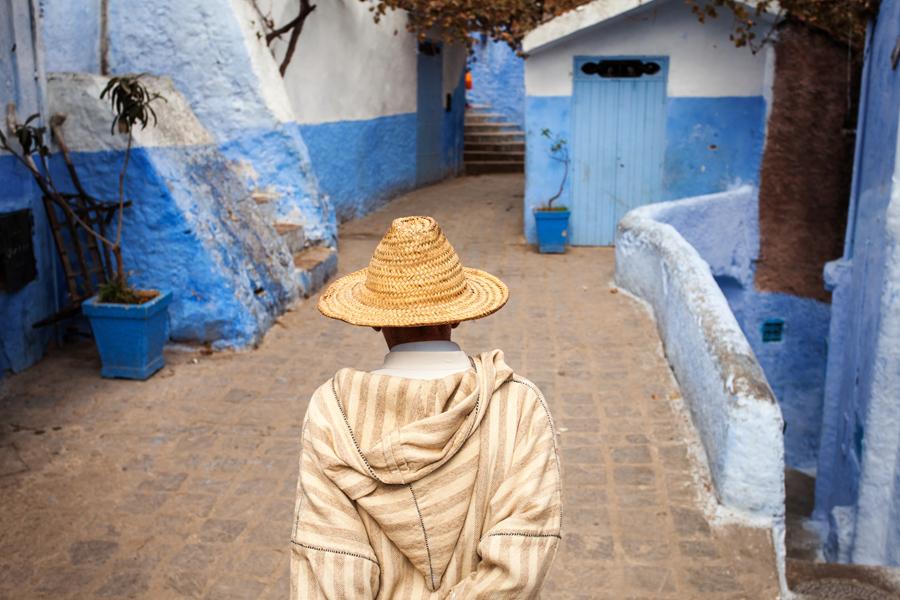 47 - pe strazile Chefchaouen (Maroc)