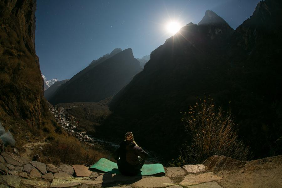 in meditatie, Deurali
