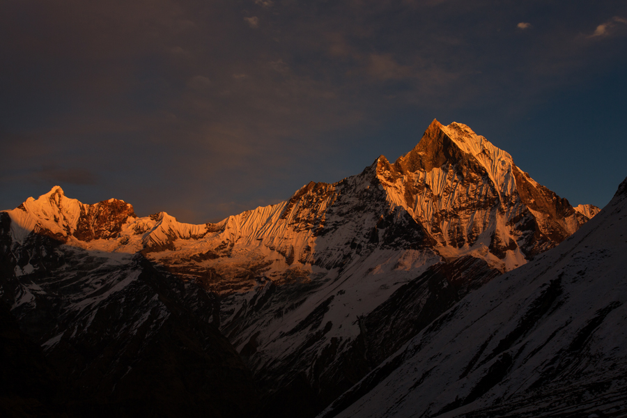 Apus la Annapurna Base Camp